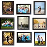 Trends On Wall Memory Wall Photo Frame Set Classic Set Of 9 Individual Photo Frames 9 10 Inch X 12 Inch Photo Frames