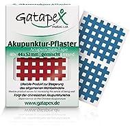 Gatapex Medical Akupunktur - Paquete de 40 parches para acupuntura, color crema