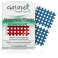 Gatapex Akupunktur Pflaster in Gitterform 40 Stück 44 x 52 mm gemischte Farben preisvergleich bei billige-tabletten.eu