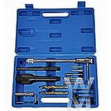 neuf Royaume-uni Endommagé Bougie Préchauffage Solvant Suppression Kit D'outils 8mm 10mm Professionnel