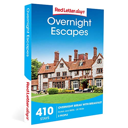 Red Letter Days Overnight Escapes Gift Voucher - 410 UK-based relaxing overnight retreats