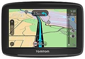 """TomTom Start 42 Europa 45 GPS per Auto, Display da 4.32"""", Mappe a Vita, Indicatore di Corsia Avanzato, 3 Mesi Tutor&Autovelox, Aggiornamenti Software Gratuiti,Nero/Antracite"""