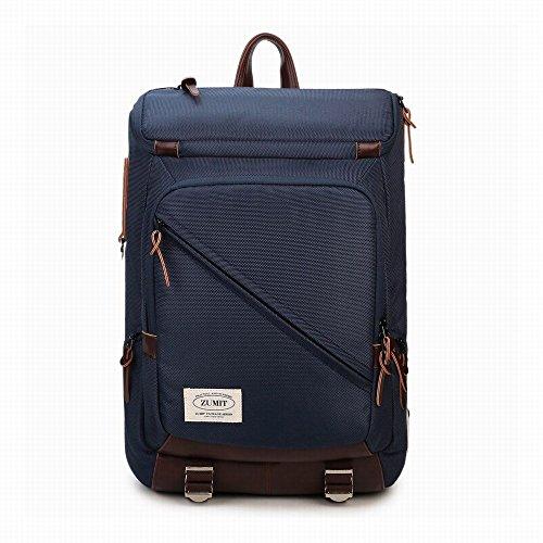 zumit-laptop-backpack-business-water-resistant-rucksack-anti-theft-shoulder-notebook-travel-bag-blue