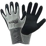 evilandat Wonder agarre WG 787mejorado resistente al corte guantes seguridad palma de nitrilo EN388certificado nivel 5protección