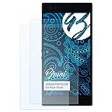 Bruni Schutzfolie für Razer Phone Folie - 2 x glasklare Displayschutzfolie