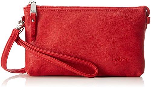 Gabor Damen Emmy Clutch, Rot (Rot), 4,5x13,5x22,5 cm