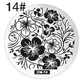 Stamping-Schablone #14