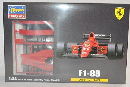 Ferrari F1-89 Formel 1 1989 Kit Bausatz 1/24 Hasegawa Modell Auto Modell Auto
