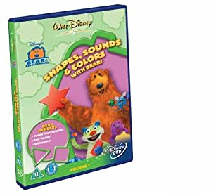 Bear In The Big Blue House: Shapes, Sounds & Colours With Bear [DVD]