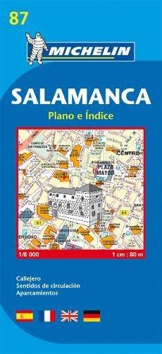 Plano Plegable Salamanca (Planos Michelin)