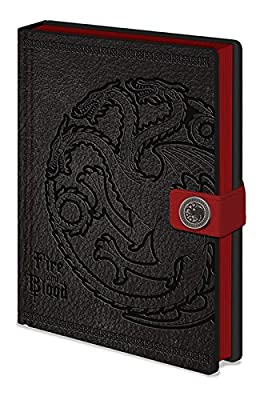 Calepin Premium Game of Thrones - Maison Targaryen