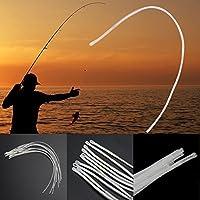 broadroot 10pcs bucle para pesca con mosca caja de pesca de línea de conector herramienta, 13,6kg, 18cm