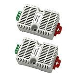 F Fityle 2 Stücke DHT22 AM2302 Temperatursensor und Luftfeuchtigkeitssensor Für Fabrik, Lager, Luftbefeuchtungs- und Trockenmittelgeräte