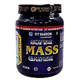 Fit Shadow Super Mass Gainer Protein Powder, 1kg,(BANANA).Best Mass Gainer Protein Supplement For