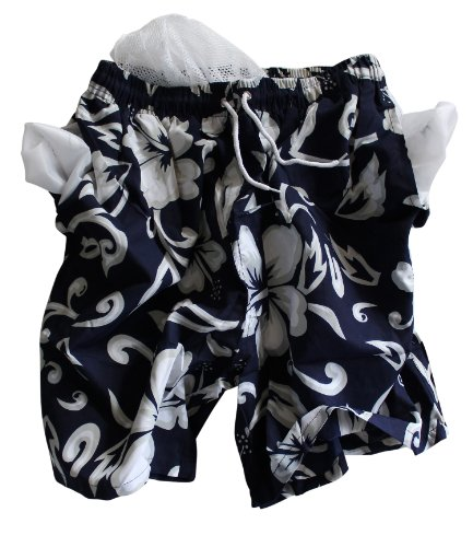 Surfshort Spirit - Herren Badeshort Hawaii Style Night