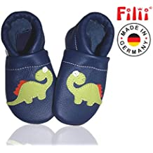 *DINO* Filii Puschen Hausschuhe Babyschuhe - Made in Germany - Beste Qualität