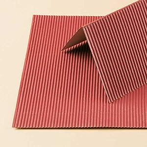 Auhagen 50.112,0 - Papel Decorativo Corrugado marrón Hierro, 200 x 200 mm, Colorido