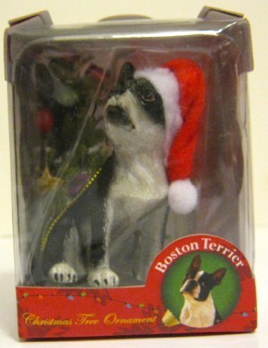 Boston Terrier Dog American Canine Association Collector Series 2 Christmas Ornament by American Canine