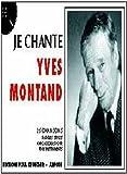 Partition : Je chante Montand