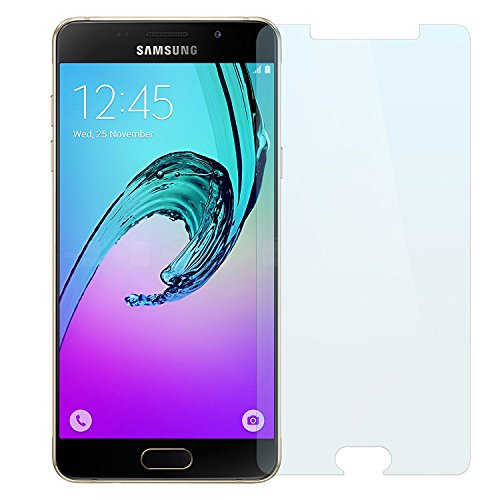 Samsung Galaxy A5 2016 Panzerglas, NEVEQ® Schutzfolie aus hochwertigem gehärtetem Glas für Samsung Galaxy A5 (2016) (5.2) Zoll-Display mit lebenslanger Garantie, Abdeckungshaut mit 9H-Härte Displayfolie.