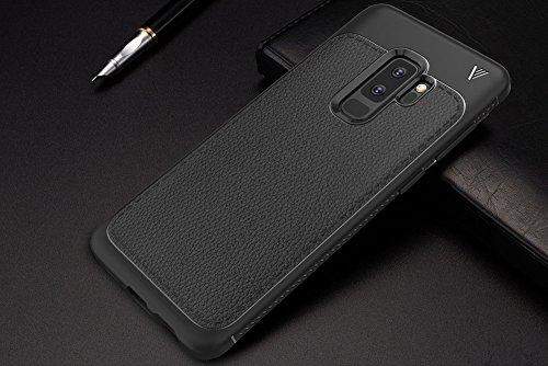 ... Mince Lége Dessin Fibre De Carbone Case Slim Gel Couverture Housse  Protection Anti Rayures AntiChoc Pare-Chocs Coque Pour Samsung Galaxy S9  Plus - Noir ... 69e3e2fa3e78
