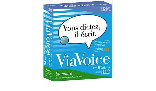 viavoice edition standard 8.02 gratuit