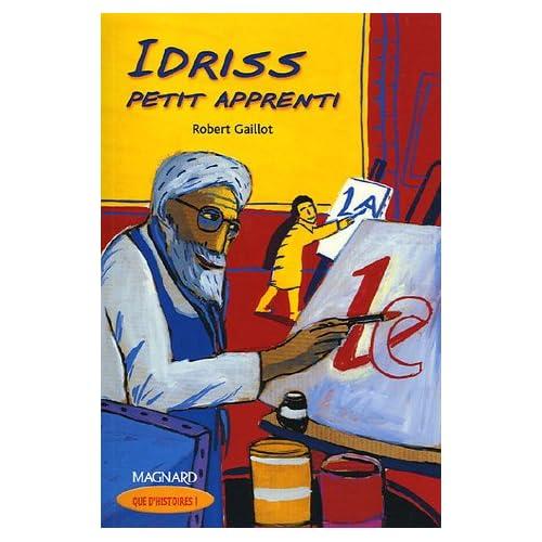 Idriss petit apprenti