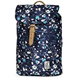 The Pack Society Backpack Blue Speckles Allover Rucksack Blau