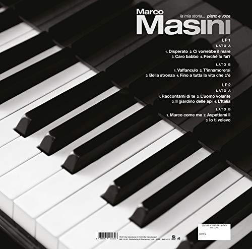La Mia Storia... Piano e Voce [Doppio Vinile Bianco - Edizione Autografata] (Esclusiva Amazon.it)