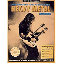 Partition : Methode de heavy metal livre I + cassette audio
