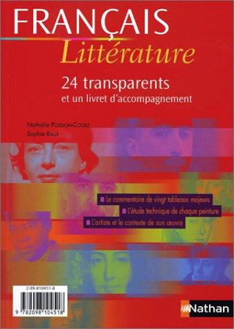 FRANCAIS LITTERATURE 24 TRANSP