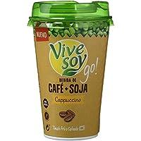 Vivesoy Bebida de Café y Soja - Paquete de 10 x 200 ml - Total: 2000 ml