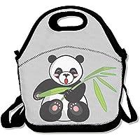 Preisvergleich für Cartoon Panda und bamboolunch Tasche für Frauen Lunch Bag Lunch Box Food Bag einfach Lunch-Boxen für Erwachsene