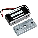 HFeng Elektromagnetische Verriegelung Zutrittskontrolle 60KG / 132lbs Elektronische Magnetverschluss DC12V Ausfallsichere NC Mini Kleine türschloss für Elektrische Sicherheitssystem