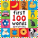 FIRST 100 WORDS BRIGHT BABY