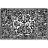 Nicoman PAW reliëf vorm deurmat Dirt-Trapper Jet-wasbare deurmat - (voor binnen of beschut buiten) - (60x40cm/23,6x15,7 inch,
