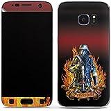 Samsung Galaxy S7 Case Skin Sticker aus Vinyl-Folie Aufkleber Feuerwehrmann Feuerwehr Firefighter