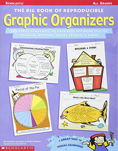 Big Book of Reproducible Graphic Organizers: 50 Great Templates That Help Kids Get More Out of Reading, Writing, Social Studies, & More!