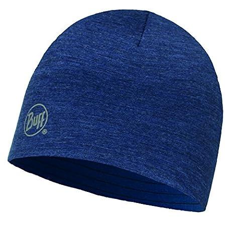 Buff Erwachsene Merino Wool Reversible Hat Mütze, Solid Denim, One Size