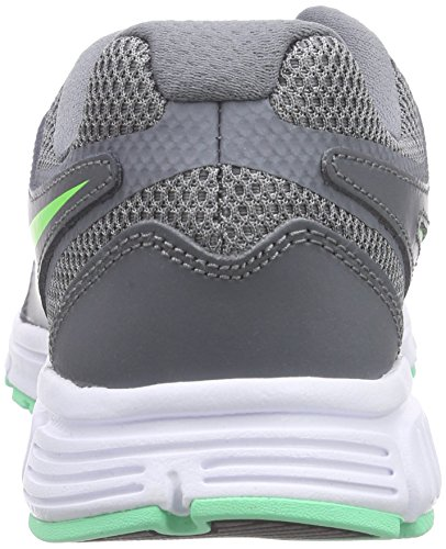Nike Wmns Revolution Eu, Scarpe sportive, Donna Cool Grey/Voltage Green-Green Glow-White