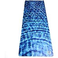 Telo per Hot Yoga. Asciugamano per Yoga in Microfibra Antiscivolo Leggerissimo Super Assorbente Si Asciuga in Pochi Minuti. Stampato con inchiostri a base d'acqua