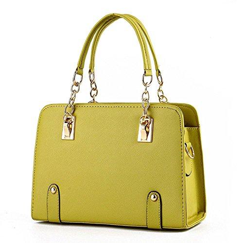koson-man-damen-pu-leder-vintage-beauty-modische-tote-taschen-top-griff-handtasche-gelb-gelb-kmukhb0