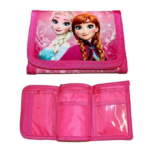 Preisvergleich Produktbild Disney Frozen/ Die Eiskönigin Geldbeutel/Portemonnaie Anna & Elsa