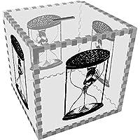 Preisvergleich für Azeeda Groß 'Sanduhr Paar' Klar Sparbüchse / Spardose (MB00061444)