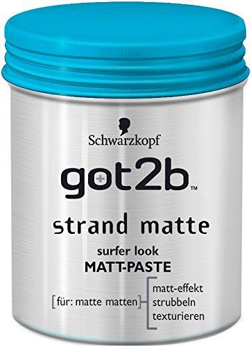 Got2b strand matte surfer look Matt-Paste, 6er Pack (6 x 100 ml)