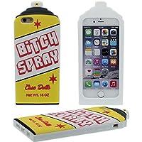Schutzhülle für iPhone 6S Plus Hülle, Weich Slikon Gel Kreativ 3D BITCH SPRAY Flasche Gestalten Case Stoßfest Apple iPhone 6 Plus 5.5 inch