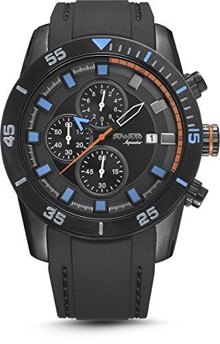 0aa31eaafd6a Reloj Duward para Caballero cronógrafo en negro modelo D85506.55