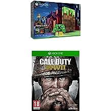 Xbox One S - Consola 1 TB Minecraft - Edición Limitada + Call Of Duty WWII