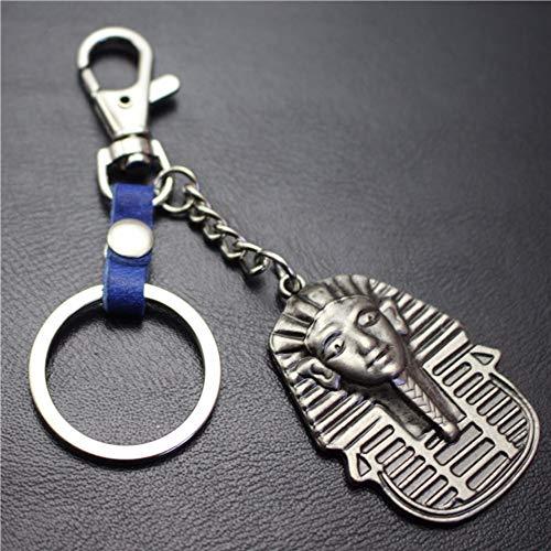 MNCJD Schlüsselbund Retro Mythische Zeichen Leder Rucksack Anhänger Anhänger Auto Key Ring Mode Persönlichkeit Original Handgemachte -