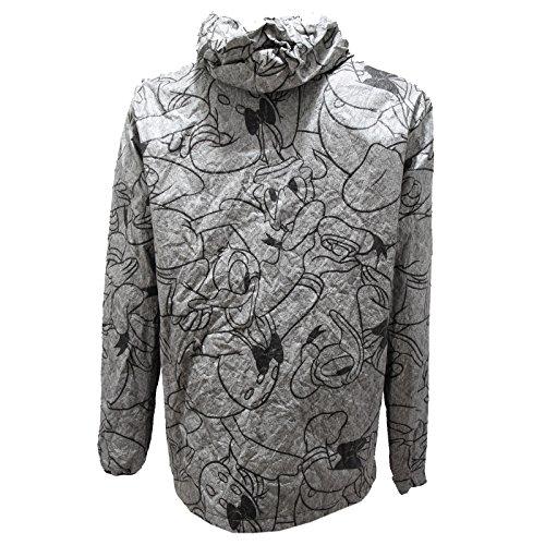 5493N giubbino KARTA giacche uomo double face giubbotti jackets men Grigio/Nero